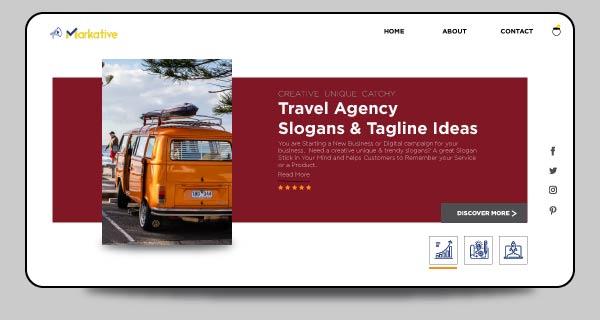 slogan for travel agency