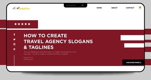 tagline for travel agency