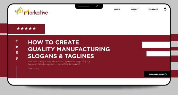 manufacturing-taglines