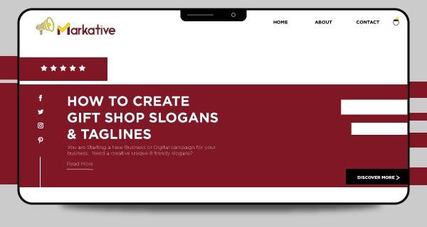 Tagline-for-gift-shop