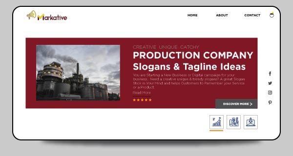 slogan for Production company