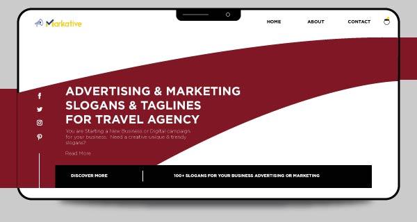 advertising slogans for travel agency