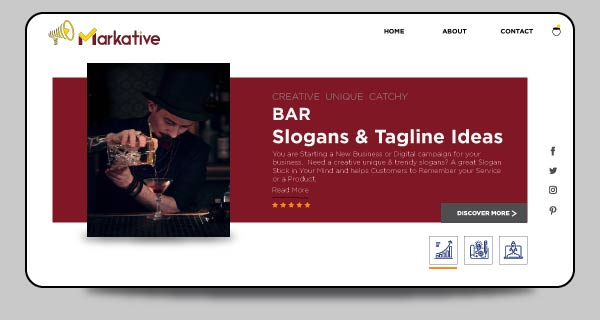 125 Cool Bar Slogans And Taglines Ideas To Grab Attention Markative