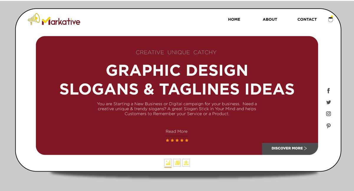 125 Best Graphic Design Slogans Taglines Ideas With Examples,Website Design Freelance Web Design Quotation Sample