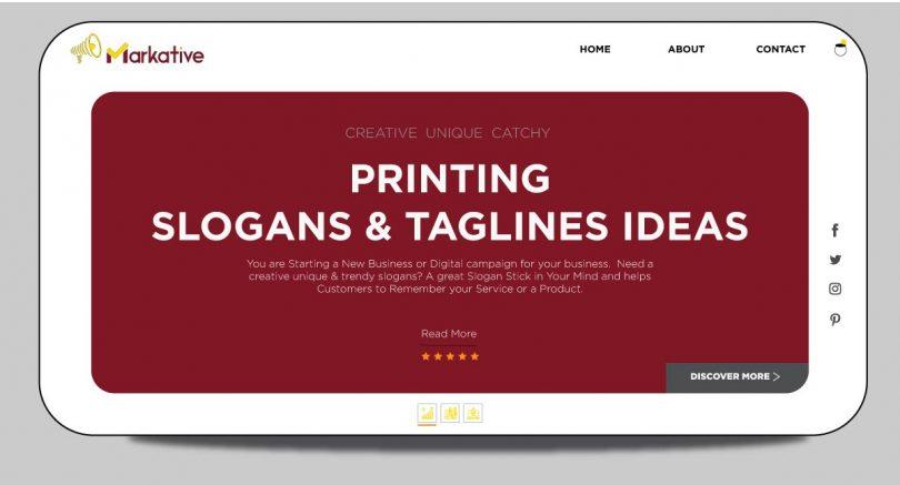 Printing-slogan