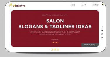 Salon-slogans
