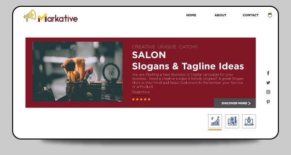 Salon-taglines